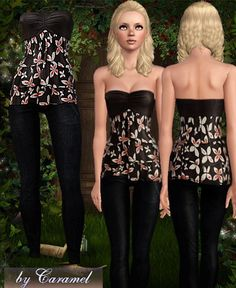 Outfit by Caramel - Sims 3 Downloads CC Caboodle