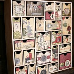 Christmas Advent Calendar. $39.99 from Silhouette America.