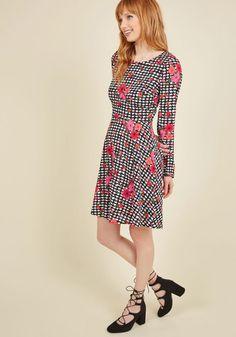 Have Mix Up Your Sleeve Floral Dress | Mod Retro Vintage Dresses | ModCloth.com