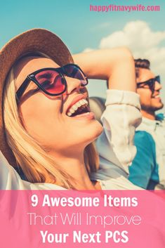 """""""9 Awesome Items That Will Improve Your Cross Country PCS"""" by Heather of Happyfitnavywife.com 