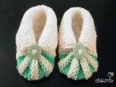 Miss Julia's Vintage Knit & Crochet Patterns: Free Patterns - 30 Baby Booties to Knit - Crochet Baby Booties Knitting Pattern, Knit Baby Shoes, Baby Shoes Pattern, Crochet Baby Booties, Crochet Slippers, Baby Knitting Patterns, Knit Crochet, Crochet Patterns, Free Knitting