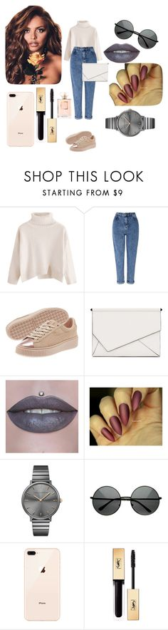 """""""Invierno"""" by lpzzmeryy ❤ liked on Polyvore featuring Miss Selfridge, Kendall + Kylie, Rebecca Minkoff, Yves Saint Laurent and Chanel"""