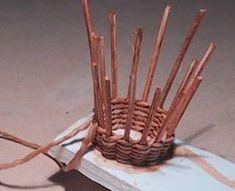 tutorial: miniature basket weaving
