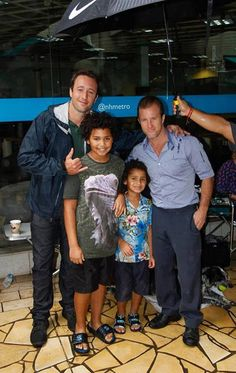 Alex and Scott with fans  ♥ bts season 3 - 2013