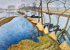 Inundation - Otto Modersohn. shadow