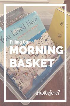 New School Routine: Morning Basket