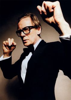 Bill Nighy and I would conquer the world. One small British pub at a time.