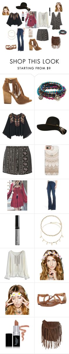 """""""Boho chick"""" by katgirl300 ❤ liked on Polyvore featuring Chinese Laundry, Aéropostale, MANGO, Billabong, Dorothy Perkins, Casetify, True Religion, Butter London, Accessorize and Chicwish"""