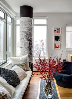 an apartment with Queensboro bridge view, 207 E59 St. Allan Greenberg & Judith Seligson