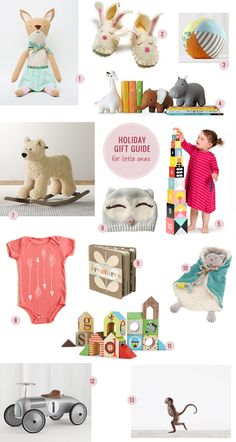 Since we are expecting and my sister just had twins last month (can't wait to meet them this Christmas!!!) and seems like almost everyone I know right now is either pregnant or recently had a baby, I thought we'd end our Gift Guides with some gifts for the littlest ones. :) Plus, they are so […]