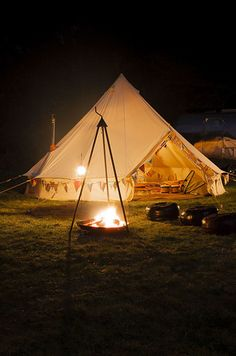 16 Splendid Places To Glamp In Britain This Summer
