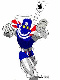 bullseye(marvel)/superpatriot(image comics)