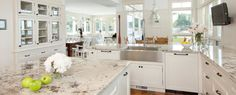 Image result for white granite kitchen worktops