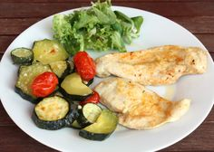 No Salt Recipes, Delena, Ham, Zucchini, Food And Drink, Meals, Chicken, Vegetables, Gardening