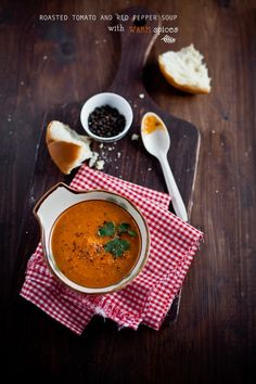 Creamy, thick, spicy, this indian tomato soup is a perfect treat for cold nights.