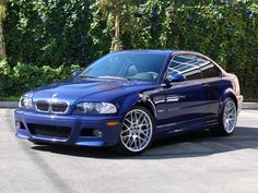 Interlagos Blue 2005 M3 competition...