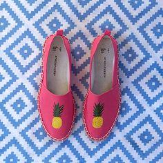 zapatos náuticos con piñas