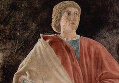 Piero della Francesca, The Old Testament Prophet Jeremiah (detail), c. 1466, fresco, 329 x 747 cm, San Francesco, Arezzo