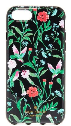 KATE SPADE Jeweled Jardin Iphone 7 Case. #katespade #case