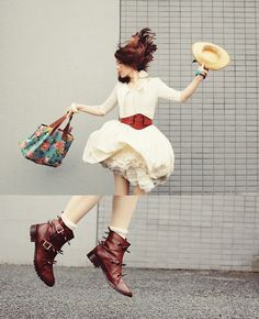 Fly, with my DIY studs boots (by Shan  Shan) http://lookbook.nu/look/3711743-fly-with-my-DIY-studs-boots