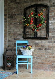 Elegant Upcycled Lead Window Accent