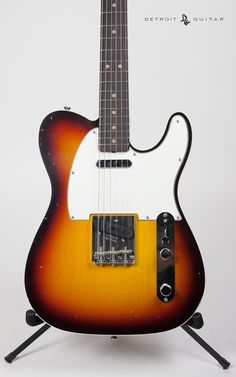 '63 Tele Custom.