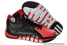 size 40 9bb6f 07d29 Authentic Black Red White Adidas Derrick Rose 773 II For Sale