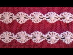 Flowers in a Row - Ornamental Stitch - YouTube
