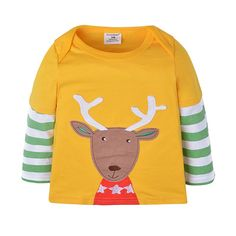 >> Click to Buy << Fashion Children Cotton Long-Sleeved T-Shirt Kids Tees Baby Boys Casual Cartoon 100% T Shirts #Affiliate