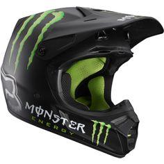 Fox V3 RC Monster Matte Helmet - Fox Racing