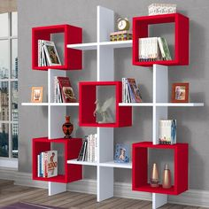 25 Modern Decor Accessories That Always Look Fantastic - Home Decoration Experts Wall Bookshelves, Bookshelf Design, Wall Shelves Design, Creative Bookshelves, Corner Shelves, Cheap Home Decor, Diy Home Decor, Tv Decor, Wall Decor