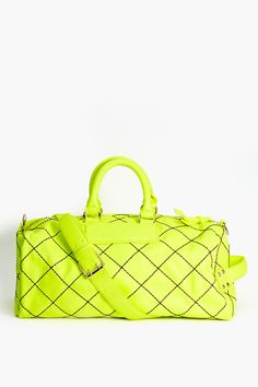 Jet Set Weekender Bag in Yellow