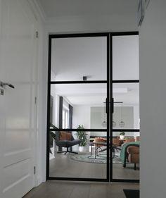 www.lifs.nl #lifs #interiordesign #interieuradvies #ontwerp #stalendeur #maatwerk #lichtplan Decor, Room Divider, Furniture, Interior Design, Home Decor, Room