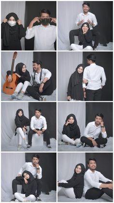 Prewedding Hijab, Prewedding Outdoor, Creative Couples Photography, Couple Photography Poses, Pre Wedding Poses, Pre Wedding Photoshoot, Couple Photoshoot Poses, Couple Posing, Couple Hijab