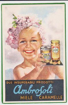 1940, miele e caramelle Ambrosoli