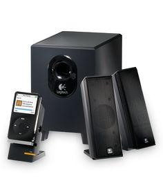 Caixa de som c/sub-woofer 2.1 speaker X-240 Logitech por R$139,00