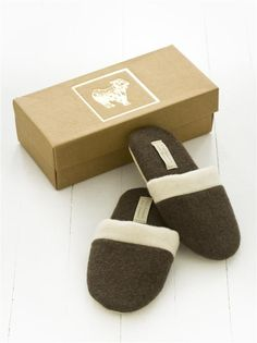 Our gorgeous Busatti Cashmere slippers! Available in brown and beige via www.busatti.com.au or in store at Double Bay Boutique or North Fremantle Boutique.