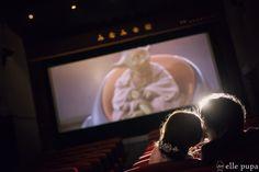 映画館で前撮りロケーション撮影 |*elle pupa blog*