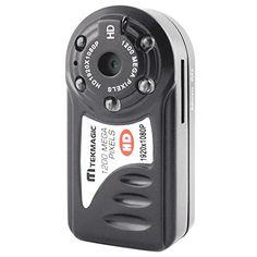 TEKMAGIC® 1920x1080P HD Caméscope Mini DV Caméras Espion de Sécurité DVR Magnétoscope Taille 45x22x16mm TEKMAGIC http://www.amazon.fr/dp/B00SL341D0/ref=cm_sw_r_pi_dp_uRD8vb05THEBY