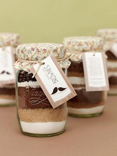 Brownies DIY Bachmischung im Glas