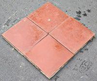 Ægyptisk cementflise - rød