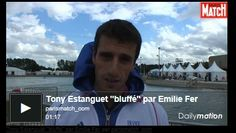 417a: Do you know how YouTube tries to capture videos with one screenshot that makes you want to watch them? That's what this site is trying to do with this screenshot of a famous French athlete who has won his event three times already. The image itself is a little dark with sweeping clouds in the background, probably trying to create a sense of Olympic grandeur.