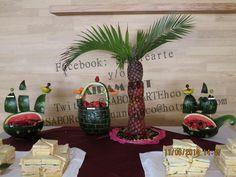 Tallado en Frutas y Verduras y Bocaditos