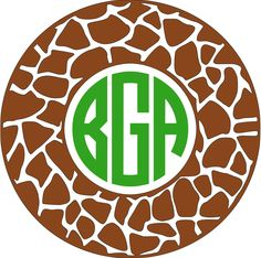 Items similar to Giraffe Monogram Car Decal- Vinyl Monogram Decal giraffe pattern, iPad Decal- stocking stuffer, Phone Decal- Sticker Monogram Decal, laptop on Etsy Vinyl Monogram, Monogram Frame, Giraffe Party, Silhouette Projects, Silhouette Cameo, Cricut Tutorials, Vinyl Projects, New Toys, Car Decals