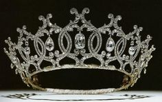 Tiara Mania: Portland Diamond Tiara  This tiara was made by Cartier in 1902 using diamonds supplied by the Duke of Portland.