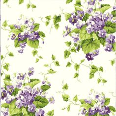 Waverly Fabric by P/K Lifestyles:  Sweet Violets-Violet