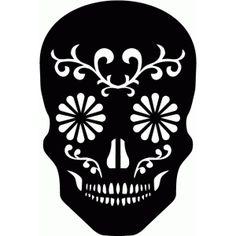 Silhouette Design Store - View Design #50742: sugar skull