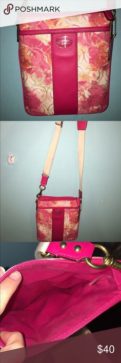 Coach cross body purse Brand new coach crossbody/hipster purse! Can't return due to no tags but it has never been used. Coach Bags Crossbody Bags