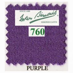 Kit tapis Simonis 760 7ft UK Purple - 140,00 €  #Jeux