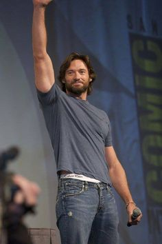 Jeans and a t-shirt!  Oh my my!